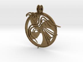 Norrelag pendant in Natural Bronze