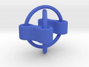 Chain Fidget Toy in Blue Processed Versatile Plastic