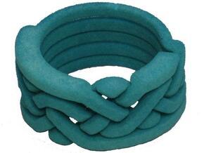 Weave Five in White Natural Versatile Plastic