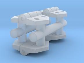 1/16 Stug III loaders hatch hinges in Smooth Fine Detail Plastic