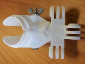 Mast Mount for GoPro Hero in White Natural Versatile Plastic