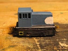 Nn3 GE 25-Tonner in Smooth Fine Detail Plastic