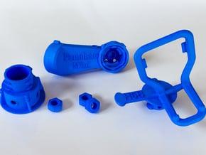 Panohero-Mini for Hero 5/6/7 in Blue Processed Versatile Plastic