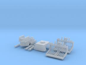 H0 1:87 Sortiergreifer für Bagger in Smooth Fine Detail Plastic