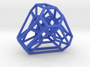 Graph Associahedron for K(4,1) in Blue Processed Versatile Plastic