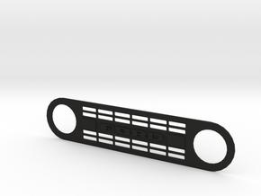 Ford Bronco TFL grill / TrailScaleRC in Black Natural Versatile Plastic