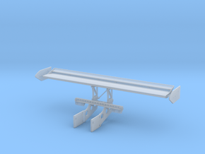 1992 Joest 962C Rear Wing Assembly, 1/24 in Smooth Fine Detail Plastic
