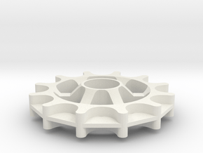 Idler for Gates Carbon Drive belt - 12T 11P 2 5x10 in White Natural Versatile Plastic