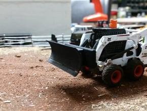 Quick Attach Plow in Black Natural Versatile Plastic