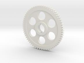 "64T Atlas/Craftsman 12"" lathe Change Gear in White Natural Versatile Plastic"