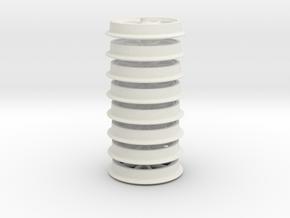 8x 8Speichenrad in White Natural Versatile Plastic