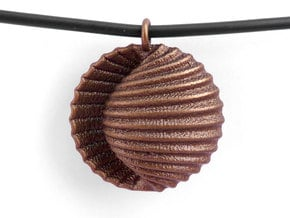 Adam Pendant in Polished Bronze Steel