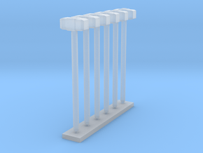 1:50 Sledge Hammers Pack of Six.  in Smooth Fine Detail Plastic