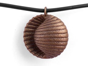 Ando Pendant in Polished Bronze Steel