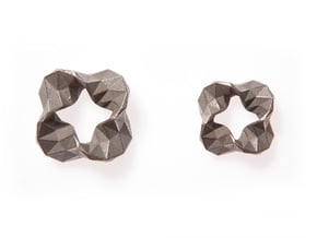 Impulse - Small in Polished Bronzed Silver Steel
