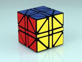 Heritombo Cube (Version 2) in White Natural Versatile Plastic