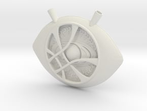 Eye of Agamotto in White Natural Versatile Plastic