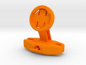 Wahoo Elemnt Saddle Mount - Track Cycling in Orange Processed Versatile Plastic