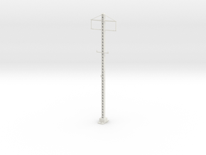 PRR LATICE POLE 2 phase Plastic Or Stainless Steel in White Natural Versatile Plastic