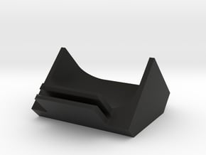 Car Air Vent Deflector for Cell Phone in Black Natural Versatile Plastic