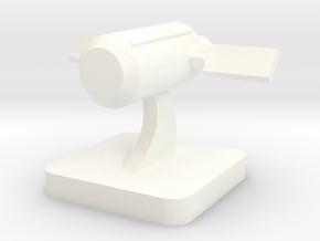 Mini Space Program, Fuel Depot in White Processed Versatile Plastic