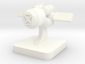 Mini Space Program, Cargo Spacecraft in White Processed Versatile Plastic