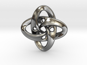 Sphere Eversion (small version) in Polished Silver