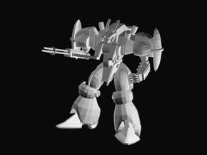 Defense robot in White Natural Versatile Plastic