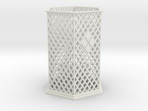 Palanquin Body in White Natural Versatile Plastic