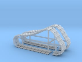 1/64th Tracks for Ertl Norscot Cat D6 dozer in Smooth Fine Detail Plastic