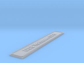 Nameplate USS Yorktown CV-5 in Smoothest Fine Detail Plastic