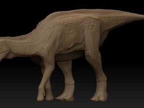 Lambeosaurus m. Eating Small in White Natural Versatile Plastic