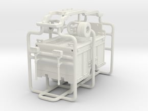 1/64 Medium Duty Engine/Pumper body in White Natural Versatile Plastic