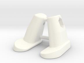 Scott Frame Plug in White Processed Versatile Plastic