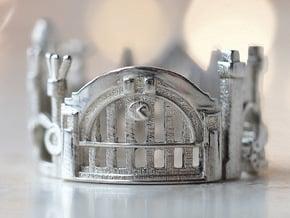 Cincinnati Ring - Saint Patric's Day Gift Idea in Polished Silver: 5 / 49