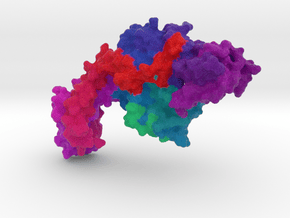 DNA Gyrase in Full Color Sandstone