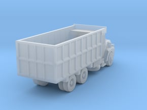Mack Coal Truck - Zscale in Smooth Fine Detail Plastic