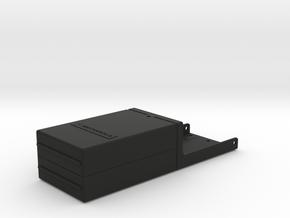 GhostBusters Replica Motorola MT500 Radio Holder in Black Natural Versatile Plastic