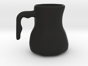 mug in Black Natural Versatile Plastic