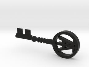 Wade's Copper key in Black Premium Versatile Plastic