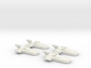 Landspeeder x4 in White Natural Versatile Plastic