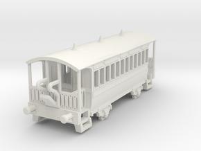 m-148-wisbech-tram-coach-1 in White Natural Versatile Plastic