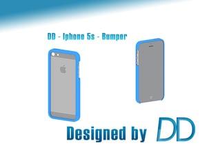 DD - Iphone 5/5S - Bumper in Blue Processed Versatile Plastic
