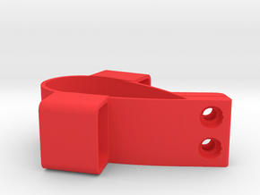 Greenspeed Aero Recumbent Trike Chain Tube Holder in Red Processed Versatile Plastic