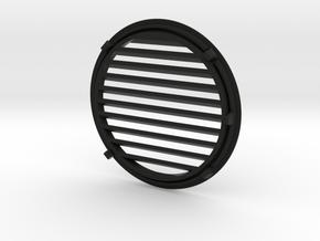 Aftermarket Yamaha Enticer 340 Round Hood Vent in Black Natural Versatile Plastic