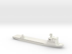 Shi Chang (83) Training Ship, 1/1800 in White Natural Versatile Plastic