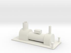 b-76-y6-tram-loco-boiler-1 in White Natural Versatile Plastic