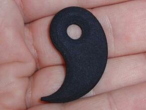 Ying Yanger -Lower Hook v1a in Black Natural Versatile Plastic