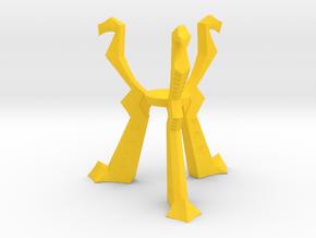 Orb of Destiny, Small Plastic in Yellow Processed Versatile Plastic