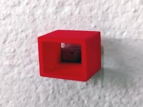 PRHI Takara Timanic Time Machine 1 Rail Connector in Red Processed Versatile Plastic